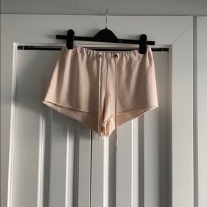ARITZIA   Community   Pink Sweat Shorts